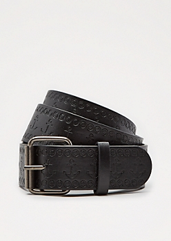 Anchor Embossed Belt