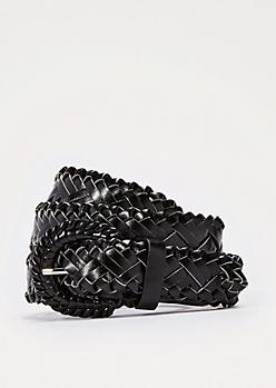 Black Huarache Belt