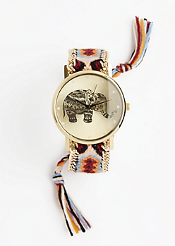 Earthy Geo Boho Friendship Watch