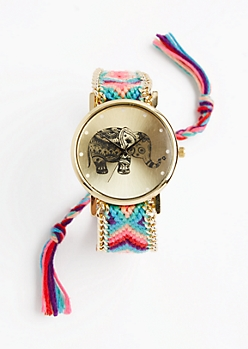 Color Pop Boho Friendship Watch