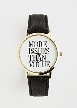 Black More Issues Watch