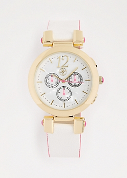 Pearlized Metallic Watch