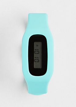Fitness Tracker Watch - Light Green
