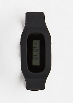 Fitness Tracker Watch - Black