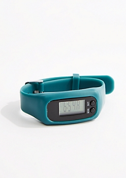 Teal Digital Activity Tracker Watch