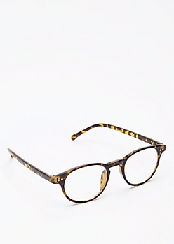 Tortoiseshell Rounded Glasses