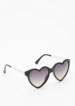 Glossy Hearts Sunglasses