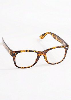 Translucent Tortoiseshell Glasses