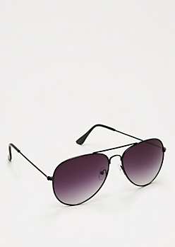 Incognito Black Aviators