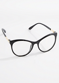 Glossy Cat Eye Glasses
