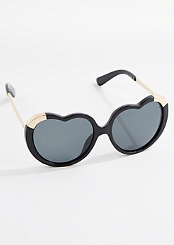Glossy Heart Sunglasses