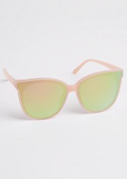 Oversized Extended Lens Sunglasses