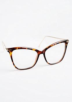 Squared Tortoiseshell Glasses