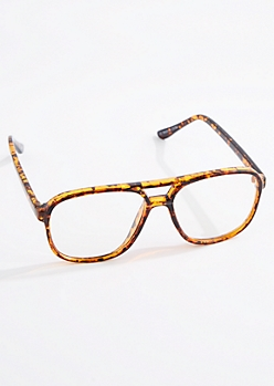 Tortoise Shell Aviator Readers