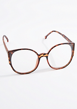 Tortoise Oversized Cat Eye Readers