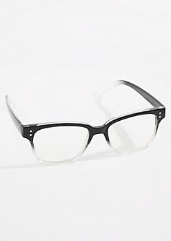 Ombre Faux Glasses