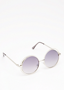 Looping Rounded Sunglasses