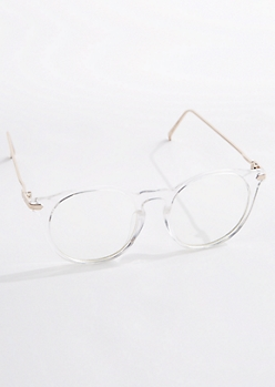 Clear Keyhole Glasses