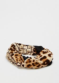 Animal Twist Headwrap by Capelli New York®