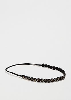 Beaded Circles Headband