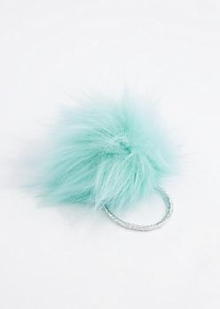 Light Green Pom Hairband