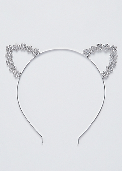 Stone Shimmer Cat Ear Headband