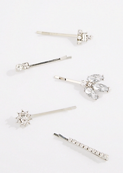 5-Pack Starburst Sone Bobby Pin
