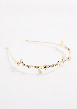 Laurel Stone Lined Headband