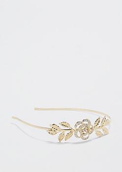 Fair Rose Diamante Headband