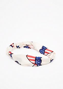 Americana Sateen Hairband