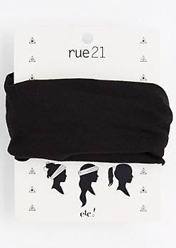 Black Multi-Wear Hair Wrap