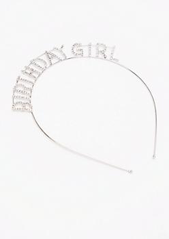 Birthday Girl Stone Headband