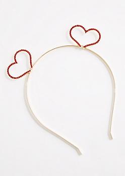 Heart Stone Headband