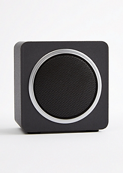 Silver Bluetooth Wireless Speaker