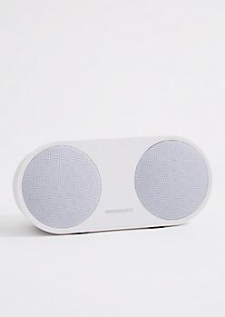 White Portable Wireless Speaker