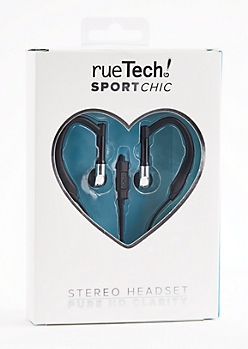 Silver Sport Stereo Headset