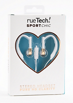 Rose Gold Sport Stereo Headset