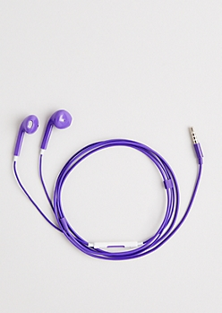 Purple Love Of Music Earbuds