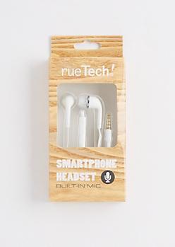 White Smartphone Headset