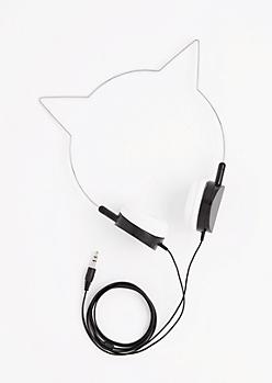 Black Cat-Titude Headphones