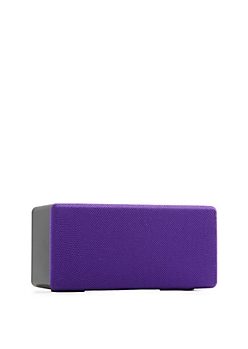 Purple Soundbox Wireless Speaker by iWorld®