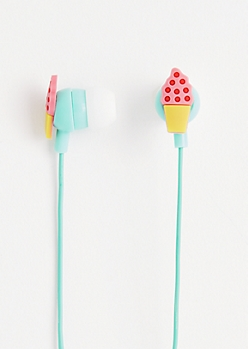 Ice Cream Cone Ear Buds