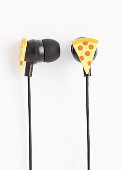 Pepperoni Slice Ear Buds