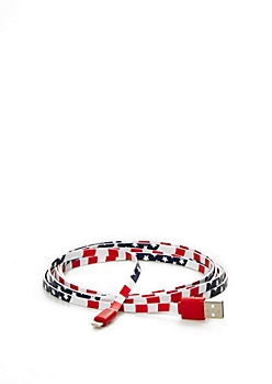 Star Spangled USB Data Cable