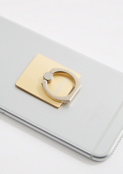 Gold Metallic Ring Stand