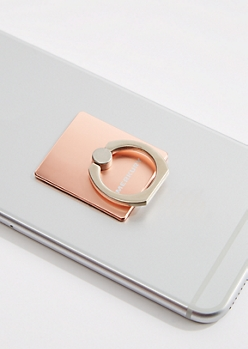 Rose Gold Metallic Ring Stand