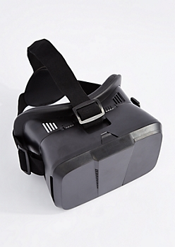 Black Virtual Reality Headset