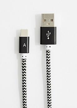 Black Universal Micro & Mfi Cable