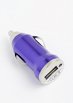 Metallic Purple Universal Car Charger
