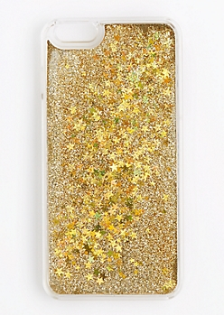 Gold Glitter Case for iPhone 6Plus